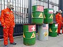Greenpeace-Aktion in Russland. (Archivbild)