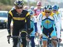 Lance Armstrong und Alberto Contador beim Training auf Teneriffa.