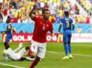 Joker Haris Seferovic schoss die Schweiz in letzter Minute ins Glück.