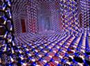 Sechsecke in 3D: kühlende Materialstruktur.