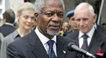 Kofi Annan möchte das Gericht international besetzt sehen und ausserhalb des Libanon.