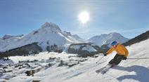 Skivergnügen am Arlberg.