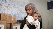 Die Glückskette will das Leiden der Flüchtlinge ein wenig lindern.