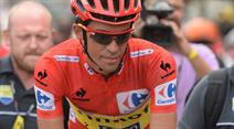 Alberto Contador nimmt die Herausforderung an.