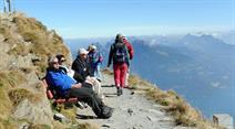 Schweiz Tourismus lockt Touristen an.
