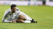 Ronaldo muss eine kurze Pause einlegen.