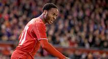 Liverpools Raheem Sterling erzielte das 1:0. (Archivbild)