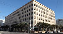 Das Hauptquartier von Twitter in San Francisco.