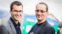 Mathias Brenner, COO & Tobias Häckermann, CEO von Sherpany