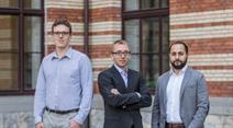 Das Team von xorlab: Marco Nembrini (COO), Matthias Ganz (CTO), Antonio Barresi (CEO)