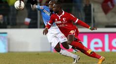 Aaraus Igor Nganga gegen Sions Edimilson Fernandes.