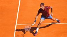 Roger Federer ist in derselben Tableauhälfte wie Rafael Nadal und Andy Murray.