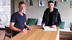 Stürmer Boris Babic verlängert beim FC St. Gallen bis 2023.