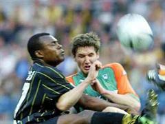 Bachirou Salou (links) hat grosse Bundesliga-Erfahrung.