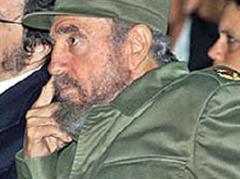 Fidel Castro soll 20 Kilo abgenommen haben.