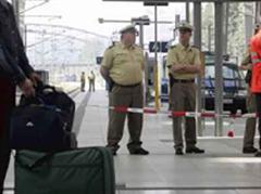 Fahndung nach Terrorverdächtigen im Bahnhof Kiel.