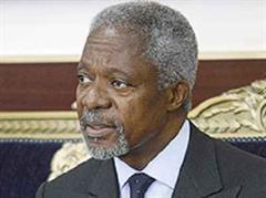 Annan will Teheran zum Einlenken bewegen.