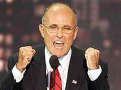 Rudolph Giuliani gilt als Mann, der durchgreift.
