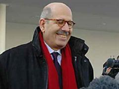 Mohammed el Baradei scheidet Ende 2009 aus dem Amt.