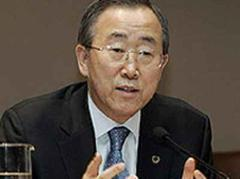 Ban Ki Moon: «Wir müssen jetzt handeln.»