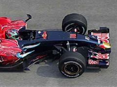 Das Toro Rosso-Modell (Bild) stelle ein Abbild Red Bull-Autos dar, so Kolles.