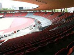 Das neue Stadion Letzigrund im Juli 2007.