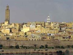 Meknès in Marokko, wo das Unglück geschah.