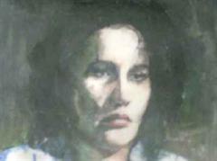 Das Porträt «Anna Göldi» des Zürcher Künstlers Patrick Lo Giudice.