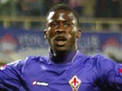 Fiorentinas Papa Waigo jubelt. (Archivbild)