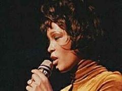 Whitney Houston war sehr heiser.