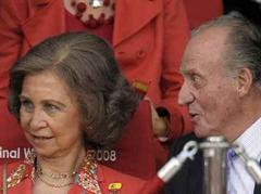 König Juan Carlos und Königin Sofia.