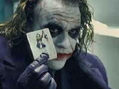 Heath Ledger in «Dark Night» als «The Joker».