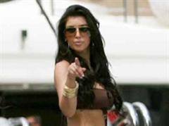 Kim Kardashian plant gern im Voraus.