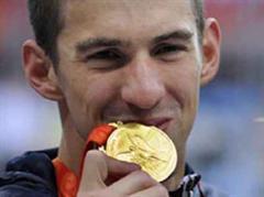 Herausragend in Peking: Michael Phelps.
