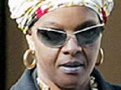 Diamanten schmerzen besonders: Grace Mugabe.