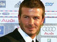 Grossverdiener David Beckham.