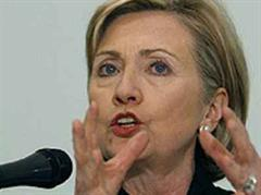 US-Aussenministerin Hillary Clinton.