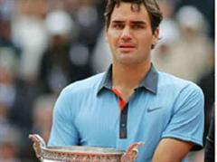 Ein sehr emotionaler Moment für Roger Federer.