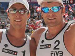 Martin Laciga/Jefferson Bellaguarda erreichten den 9. Rang.