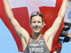 Nicola Spirig holt sich in Holland EM-Gold.