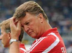 Bayerns Trainer Louis van Gaal findet Umgangsformen wichtig.