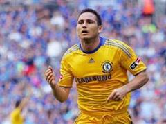 Frank Lampard traf zum 2:0.