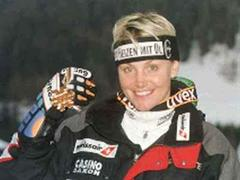 Medaillen-Hoffnung Sonja Nef.