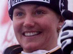 Sonja Nef ist Schweizer Meisterin im Riesenslalom.