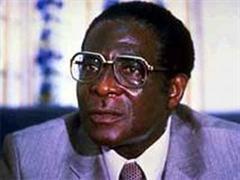 Robert Mugabe: Präsident Simbabwes.