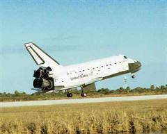 Die US-Raumfähre Endeavour.