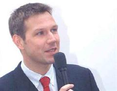 Grosse Allianz geschmiedet: René Obermann, Vorsitzender der Deutschen Telekom MobilNet GmbH.