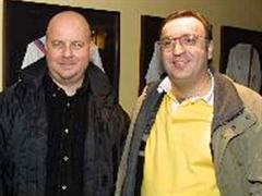 Didier Piguet (l) mit Claude Crottaz.