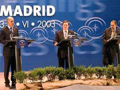 NATO-EU-Pressekonferenz.