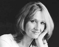 Joanne K. Rowling Autorin von Harry Potter.